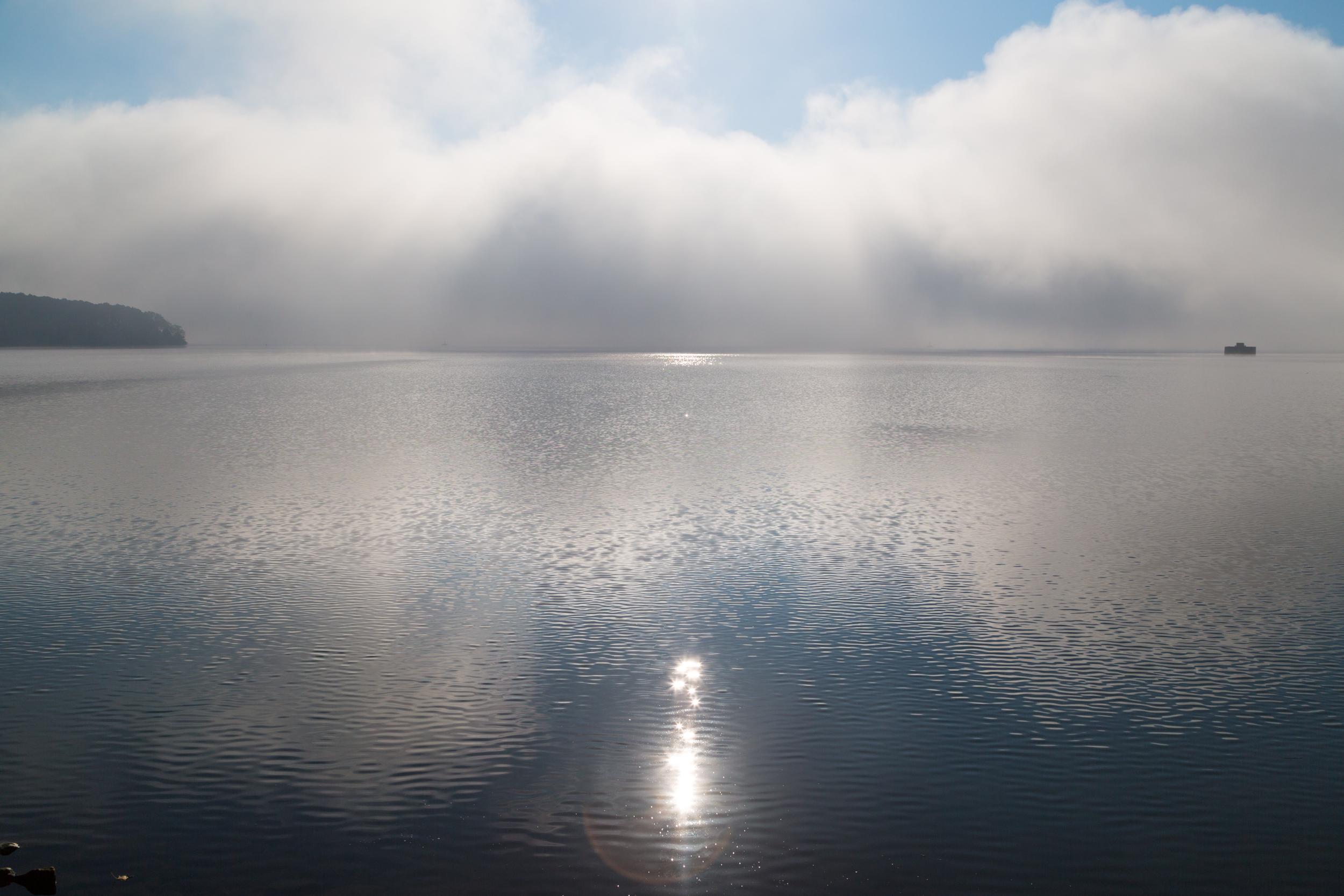 Morning light, Nickajack Lake, east Tennessee.