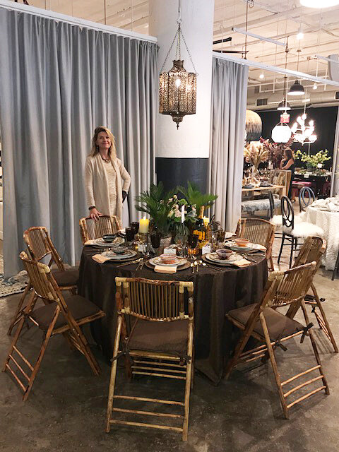 It is warm and inviting and when, oh when will all of the fabulous guests arrive? This dinner party is a closed group. Only proven philanthropists and the genuine need join us!