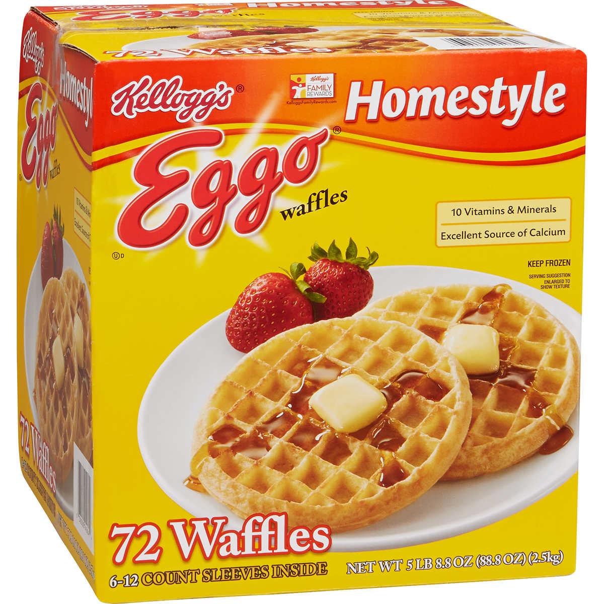 Stranger Things Eggos 1980s Label