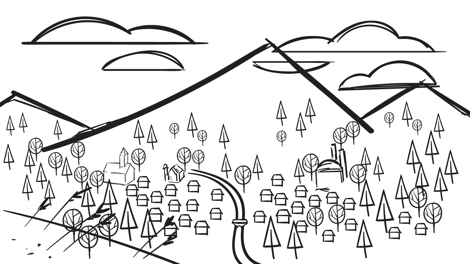 Animated pilot sketch