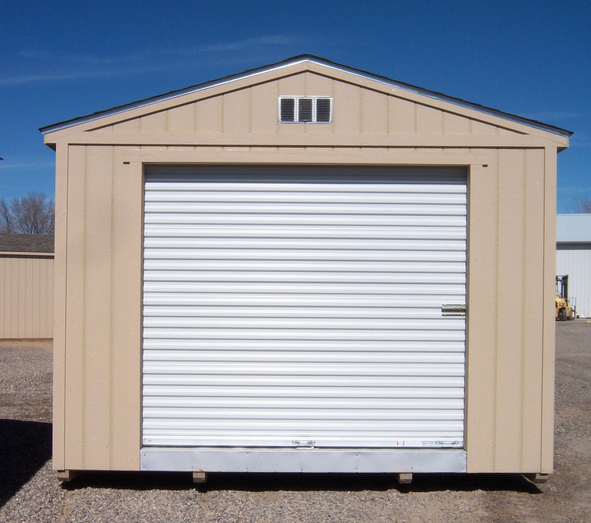 Rollup Door - Closed