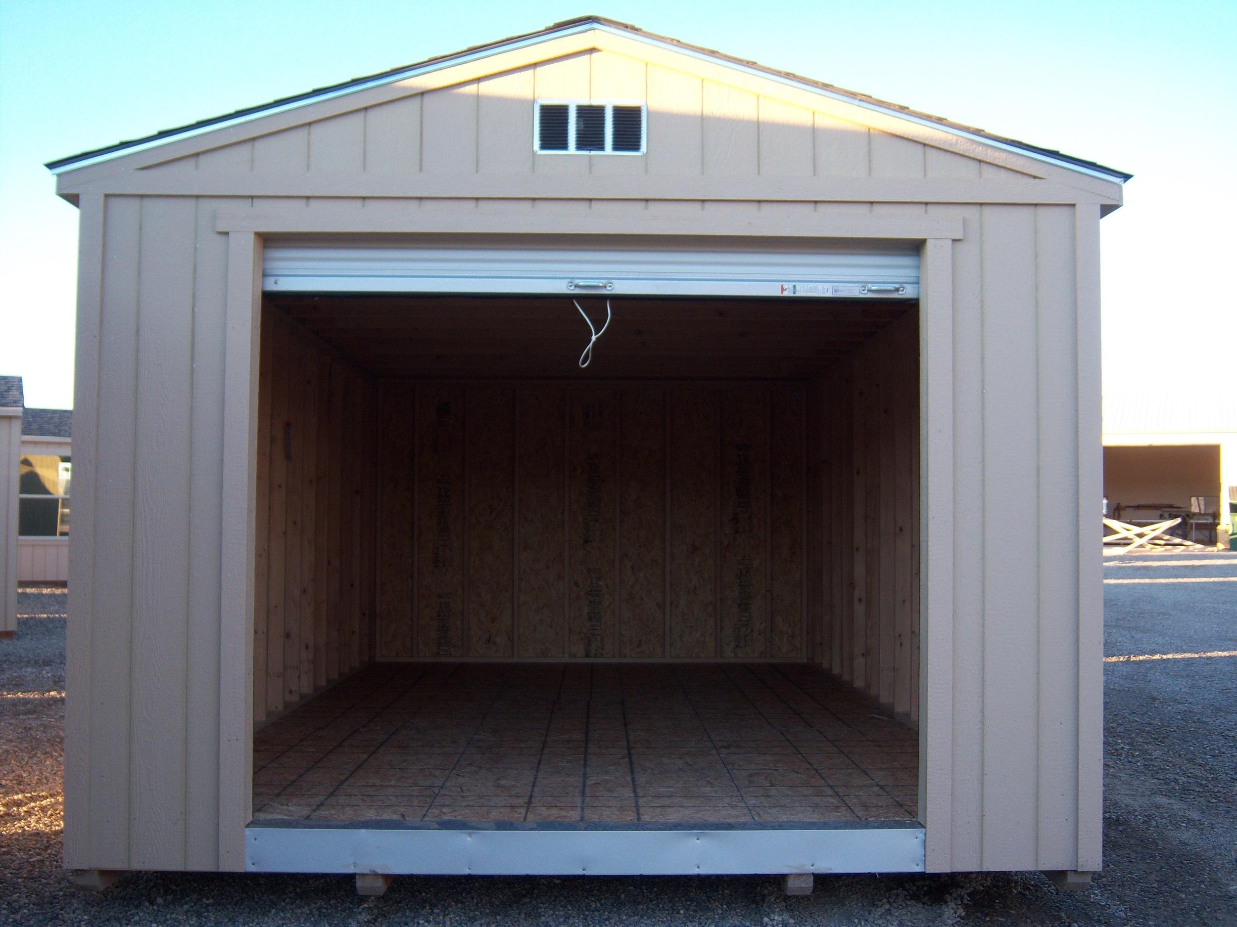 Rollup Door - Open