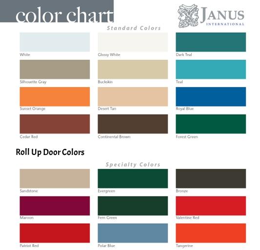Roll Up Door Colors