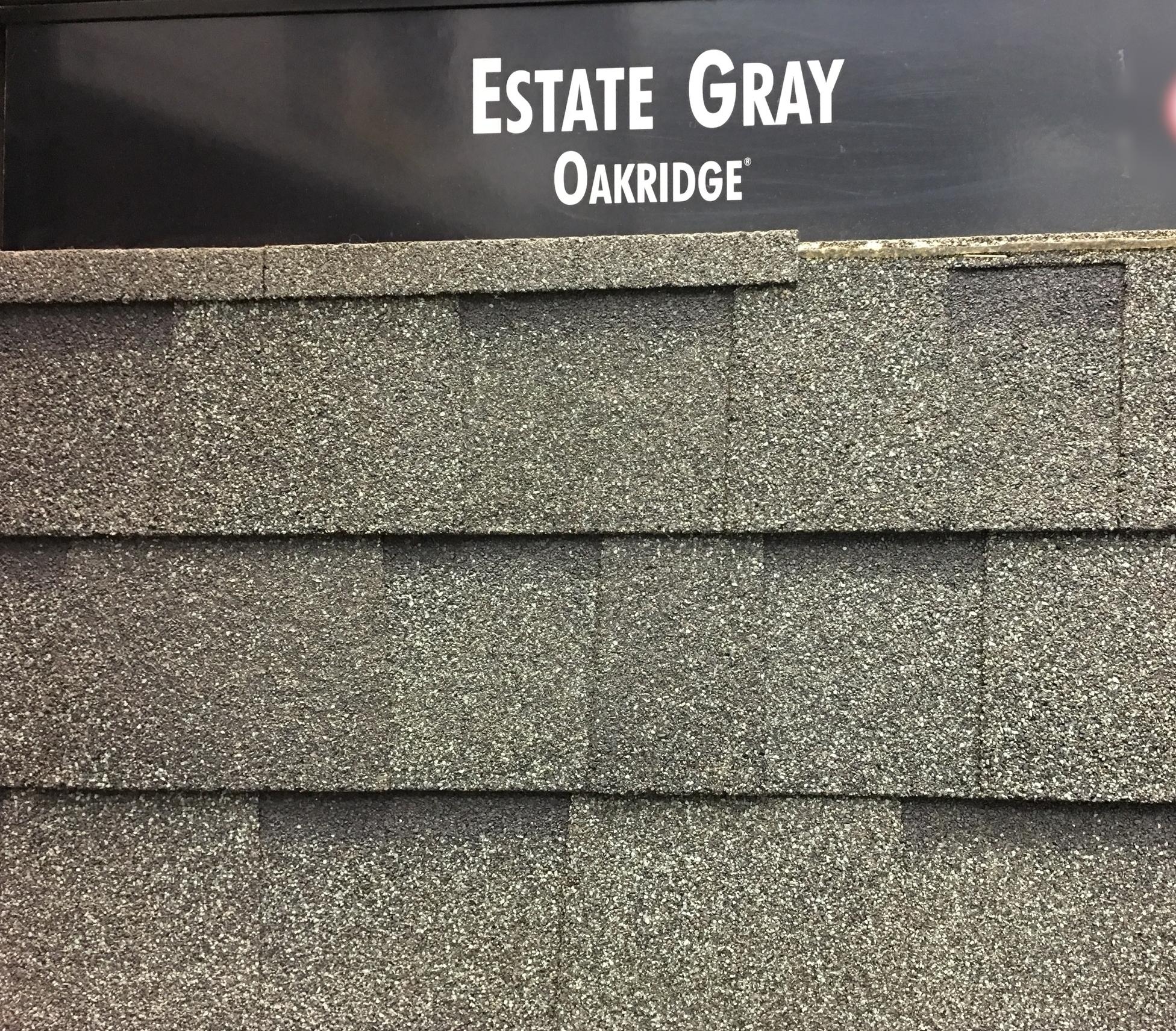 Estate Gray Shingles
