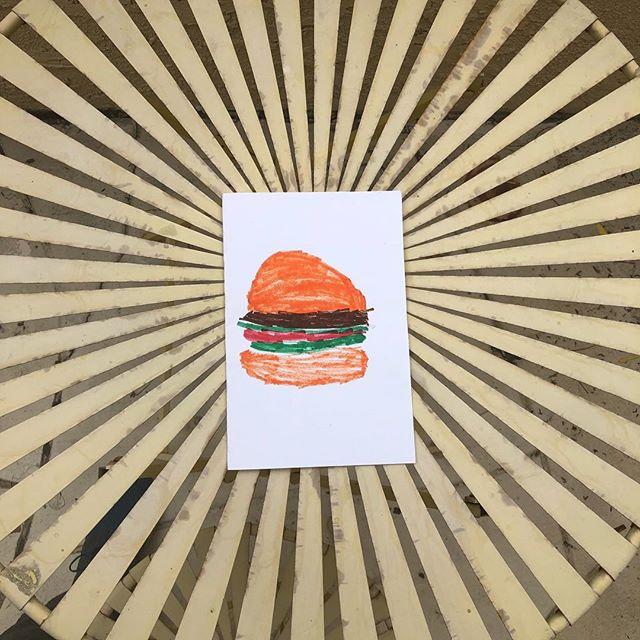 #fanart . . . . . #burgers #burgerfest #burgerlove #art #inkdrawing