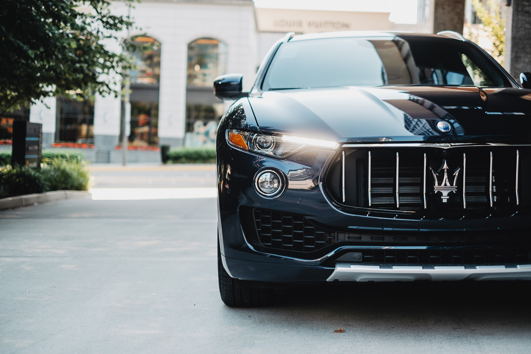 Maserati Levante Automotive Photography Element Creative
