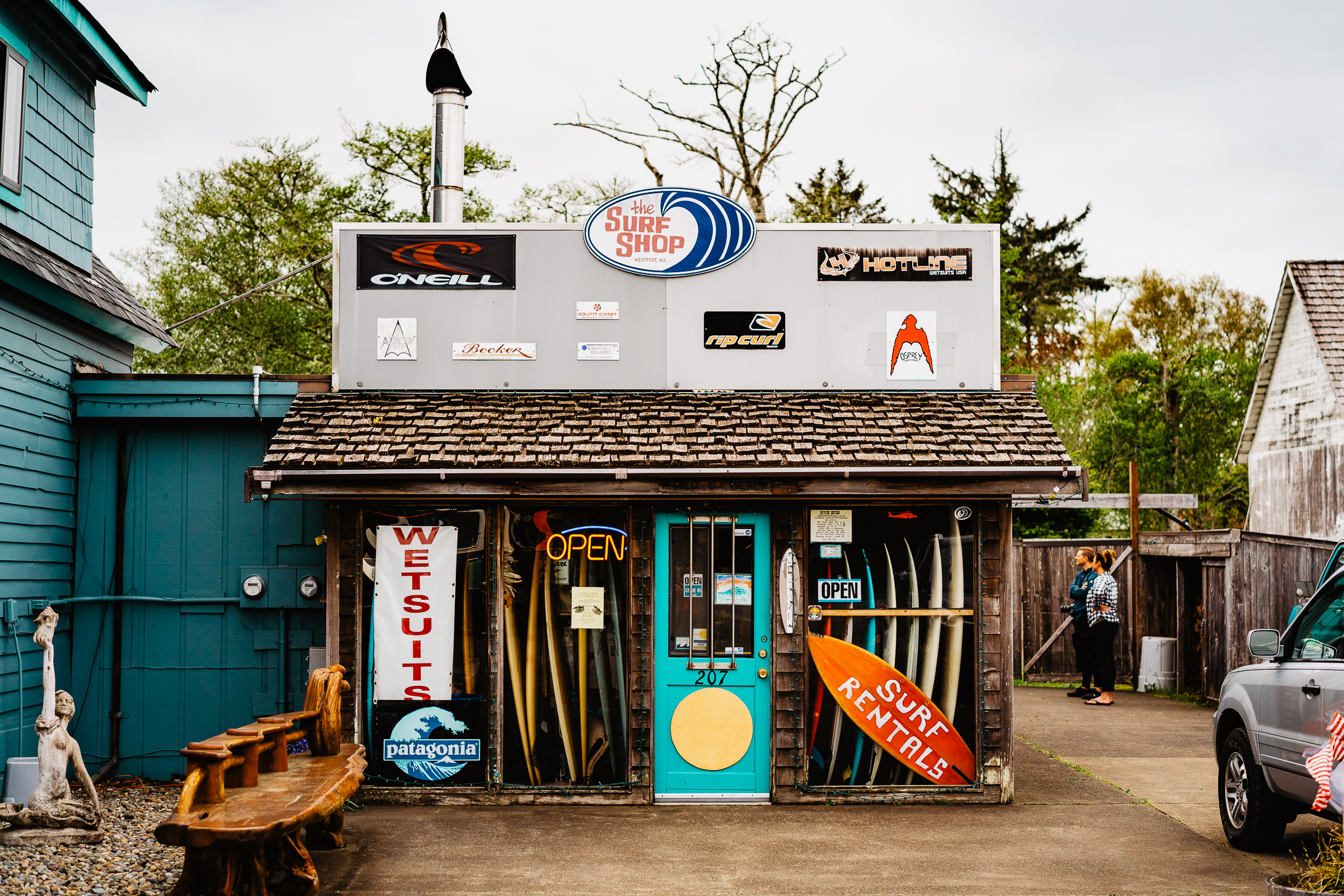 WESTPORT, WA - A SMALL TOWN WITH BIG SURF