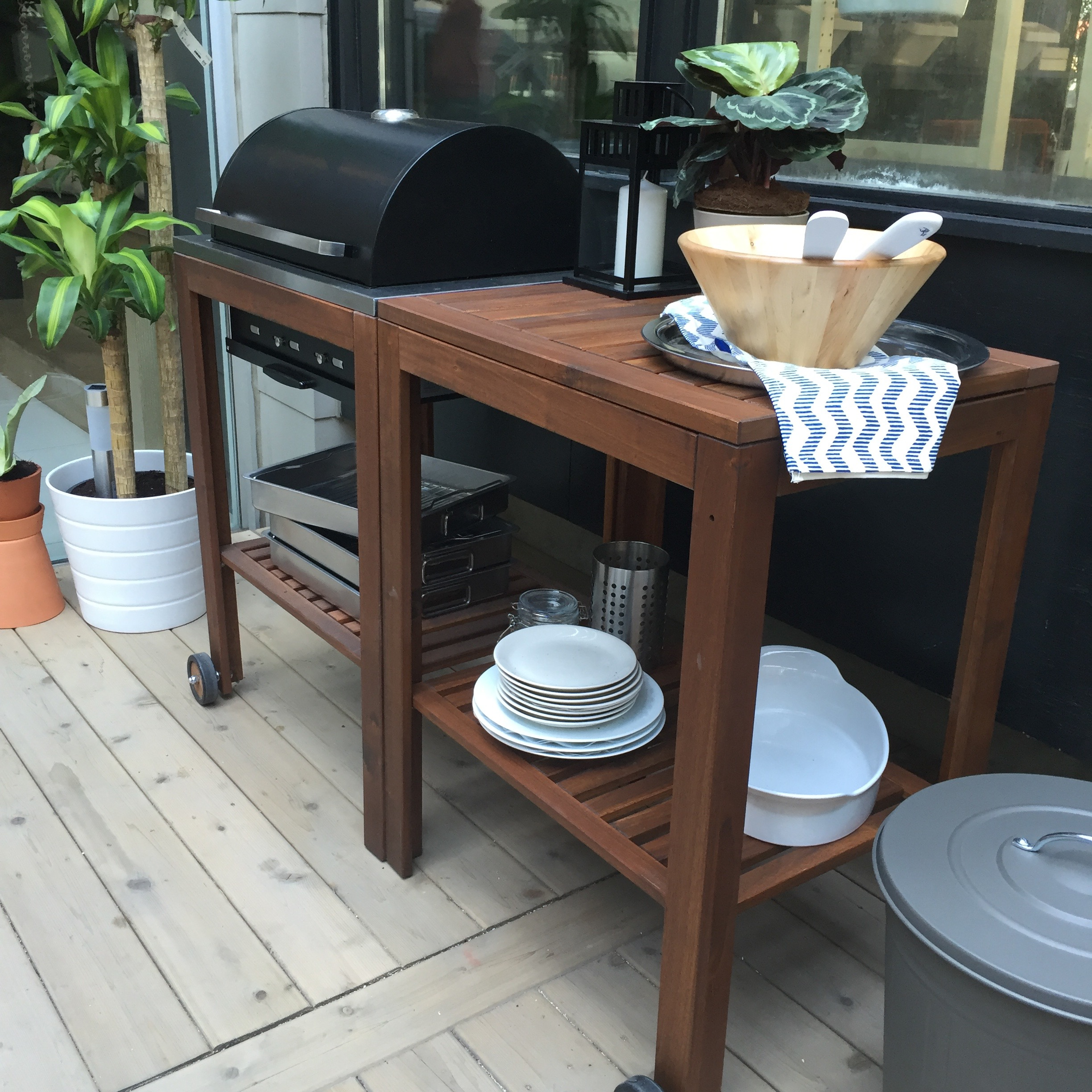 IKEA makes a fine looking grill.