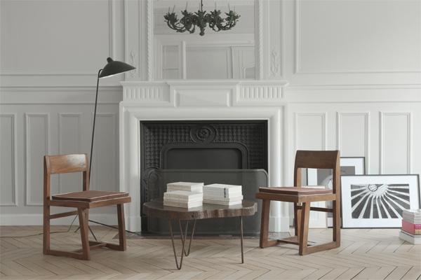 Paris apartment fireplace, NS Architects. || via The Design Edit