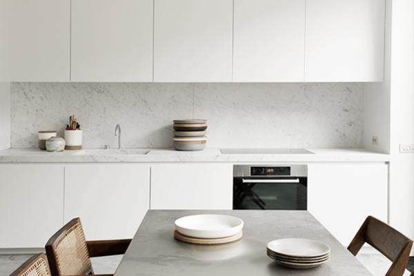 Brussels loft kitchen, NS Architects. || via The Design Edit
