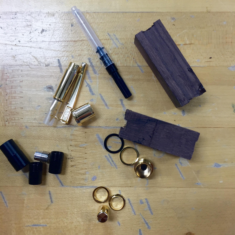 DIY Pen materials || via The Design Edit