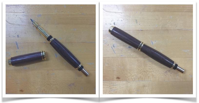 DIY Pen Finished || via The Design Edit