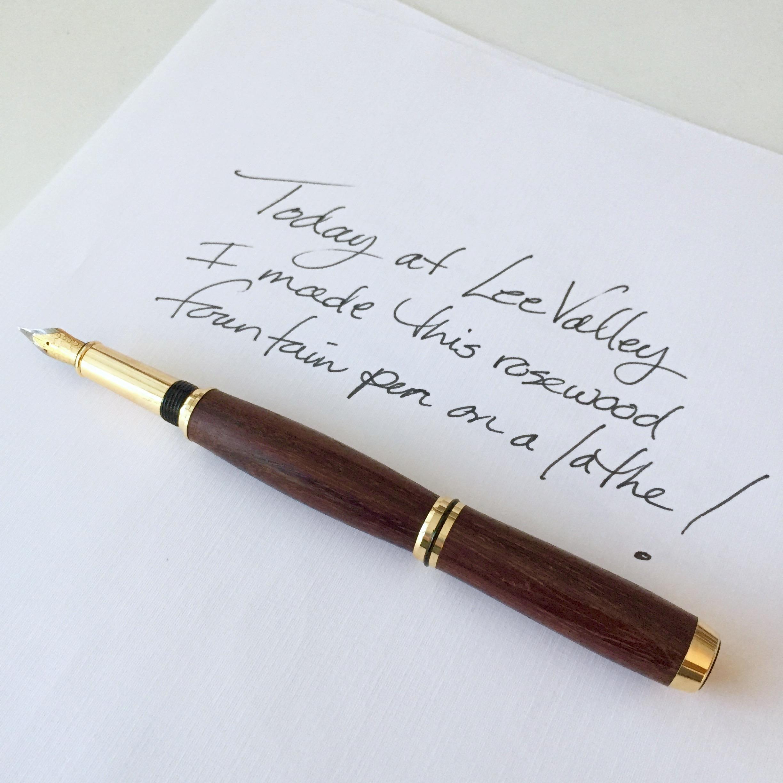 DIY Pen Handwritten Note || via The Design Edit