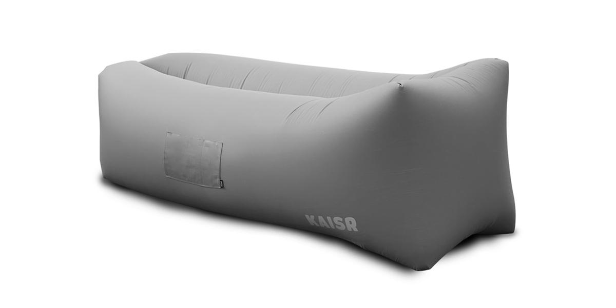 Grey Kaisr air sofa    via The Design Edit