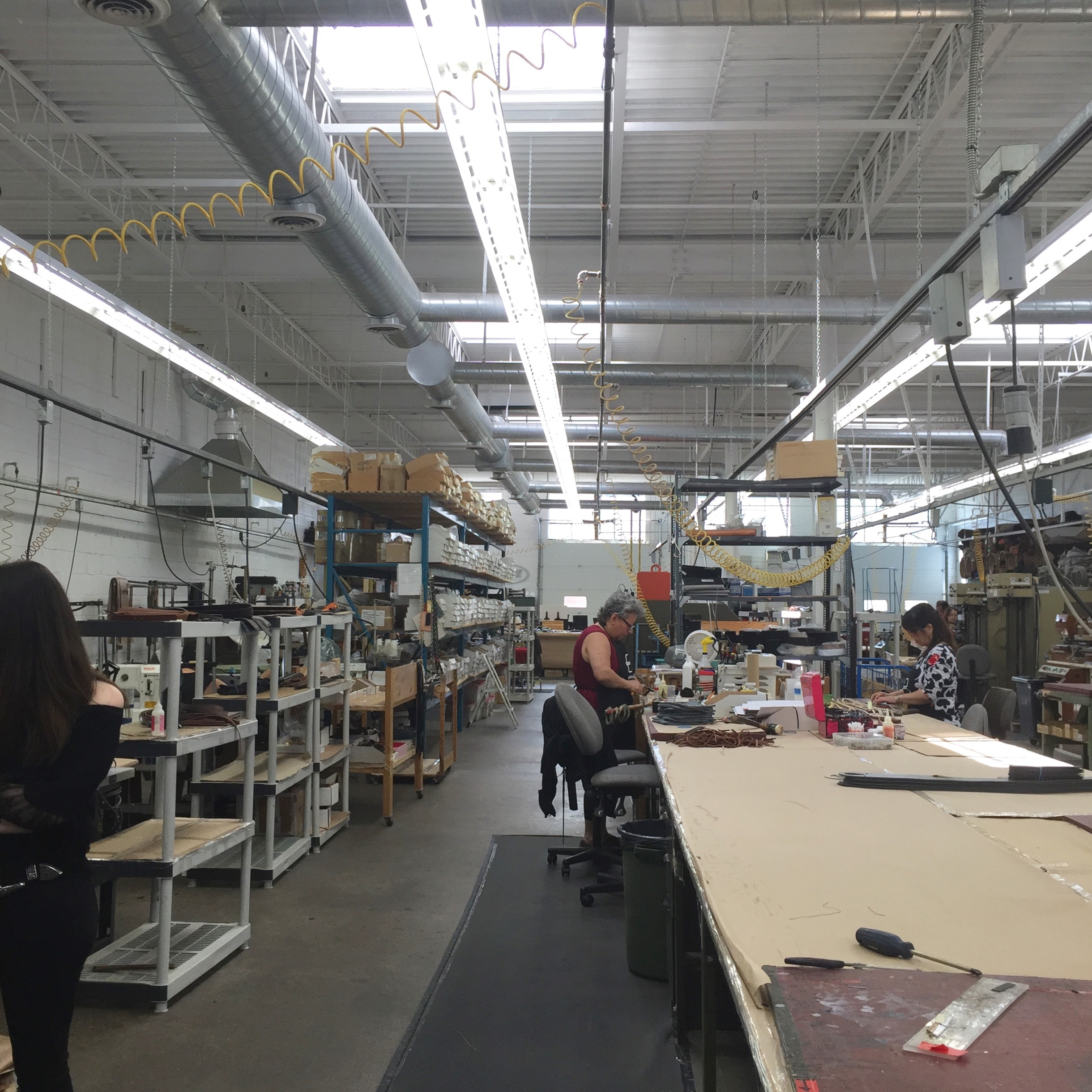 here's one side of the factory.