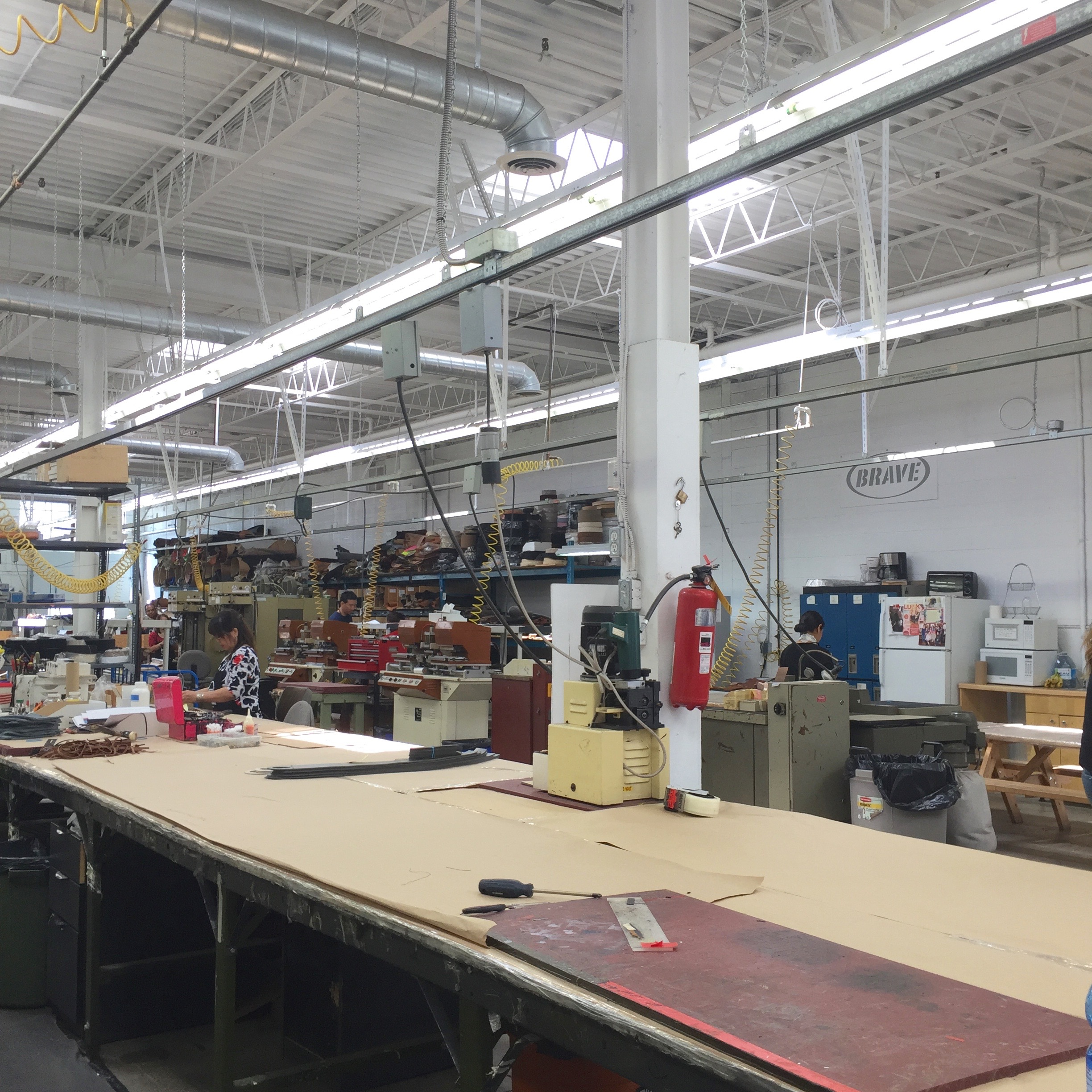 this is the other side of the factory.