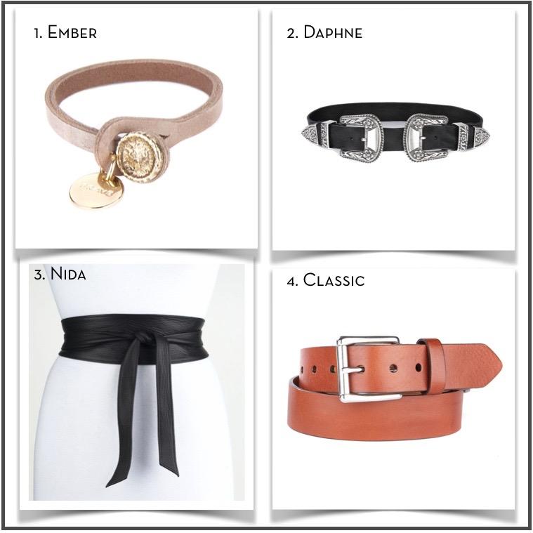 Brave Leather Ember Daphne Nida Classic || via The Design Edit