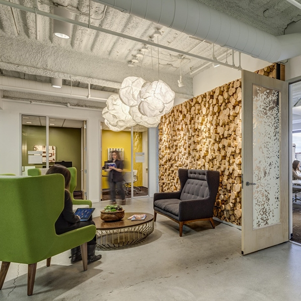 Twitter offices in Seattle. Photo by Sherman Takata.