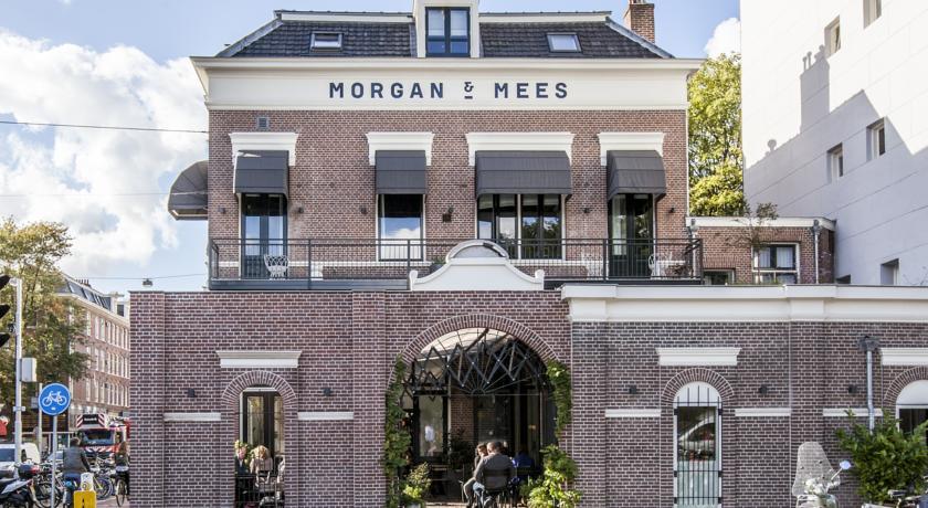 Morgan & Mees Hotel, Amsterdam || via The Design Edit