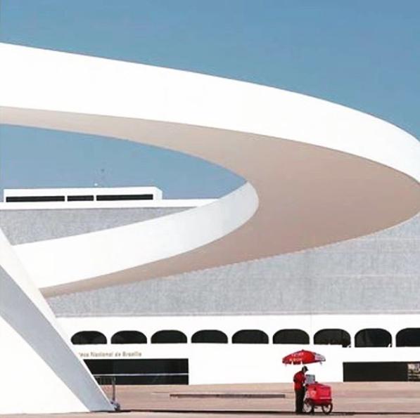 Museum Brasilia, Oscar Niemeyer