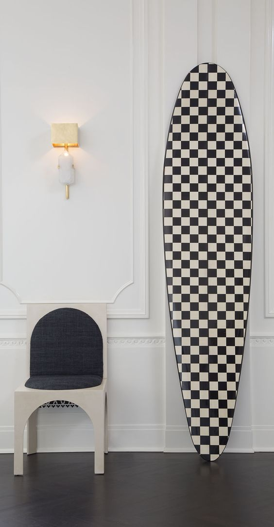 The one and only Cruz board (for a cool $14.5K) from  Kelly Wearstler.