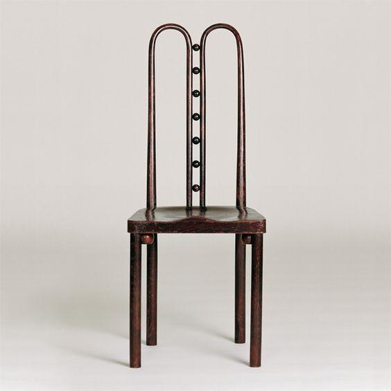 Chair No. 317 by Josef Hoffmann