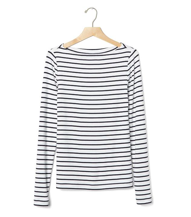 This one's at  Gap  but it's prob too slim fit for me.