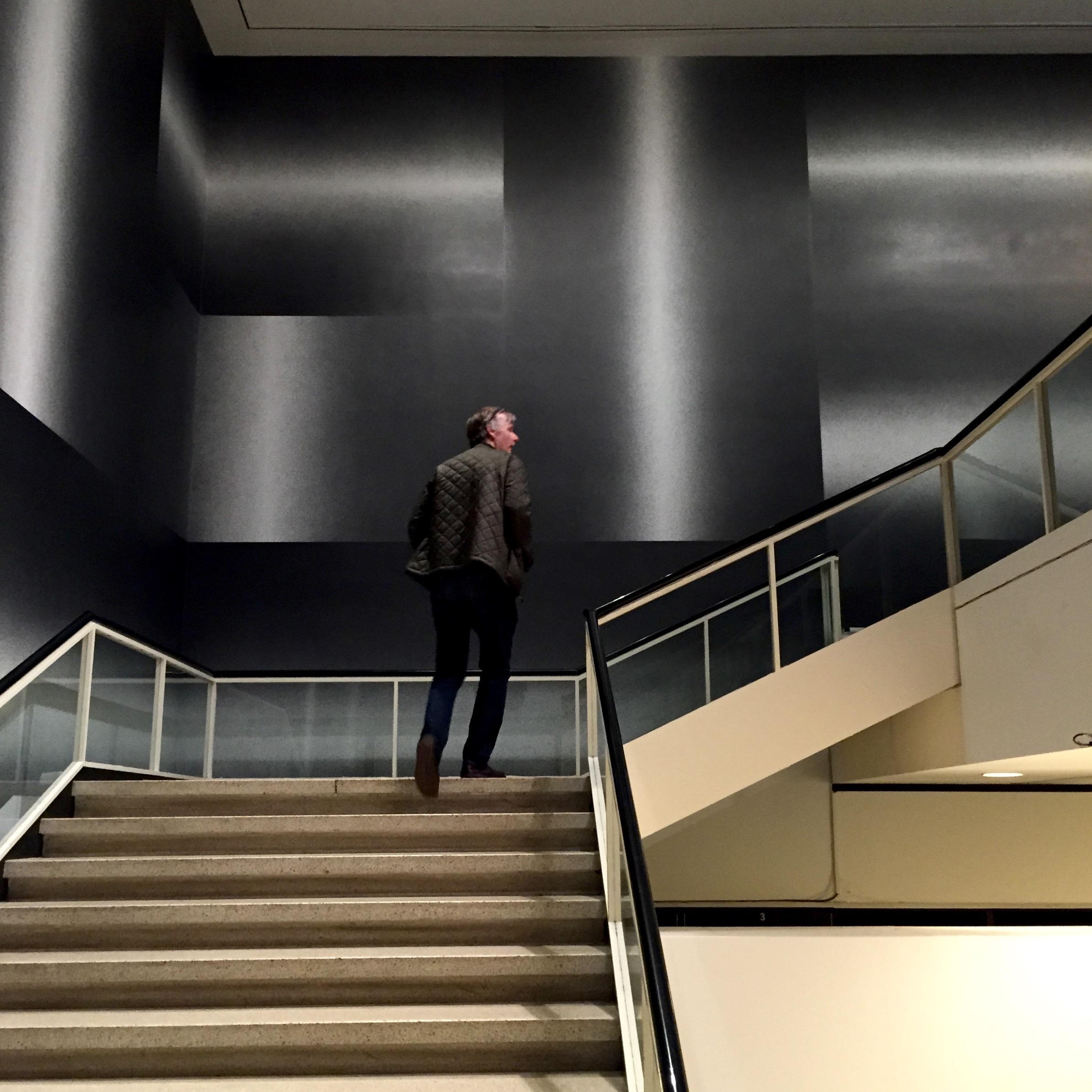 Sol LeWitt Albright Knox Stairway walls