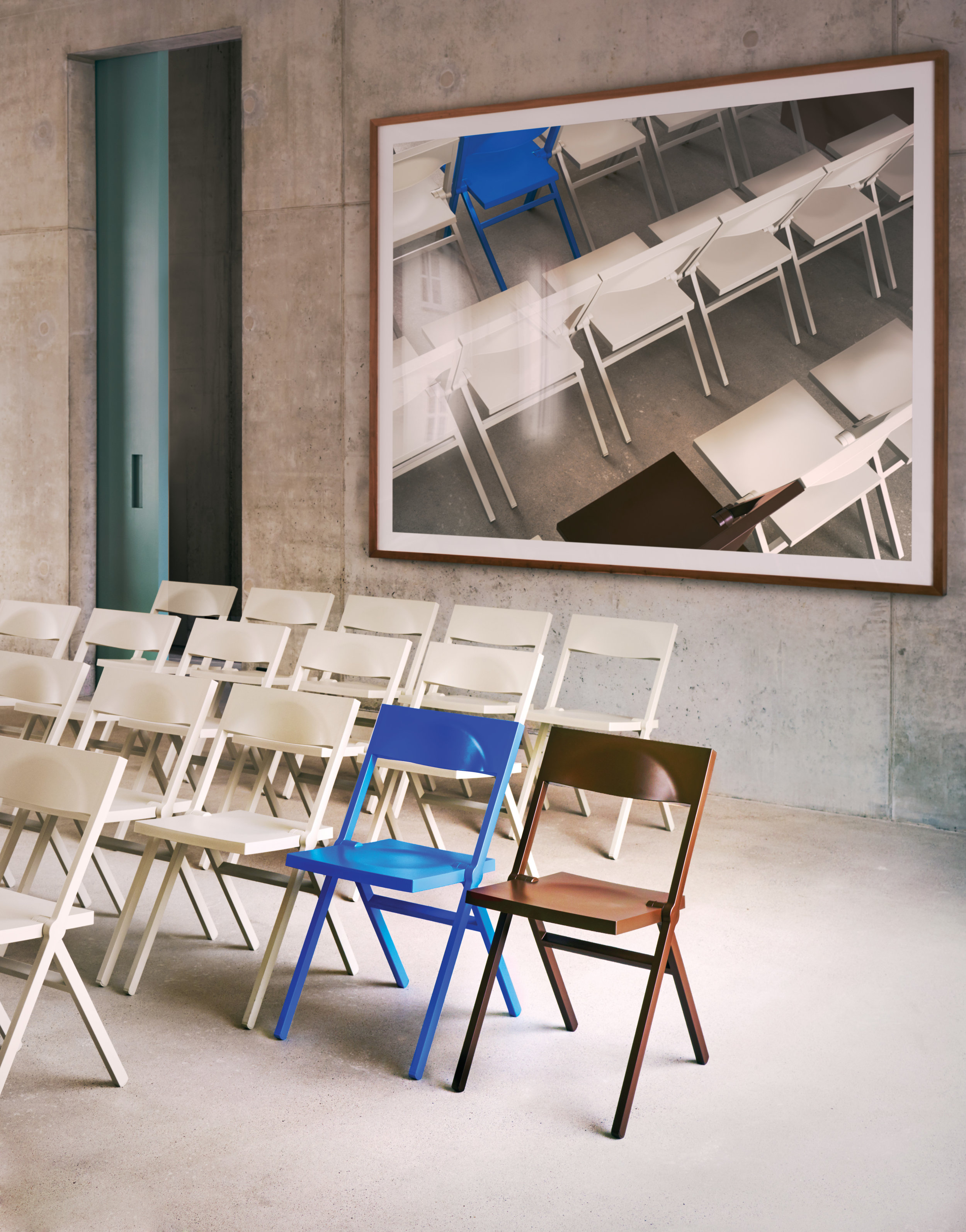 David Chipperfield Piana Chairs by Alessi