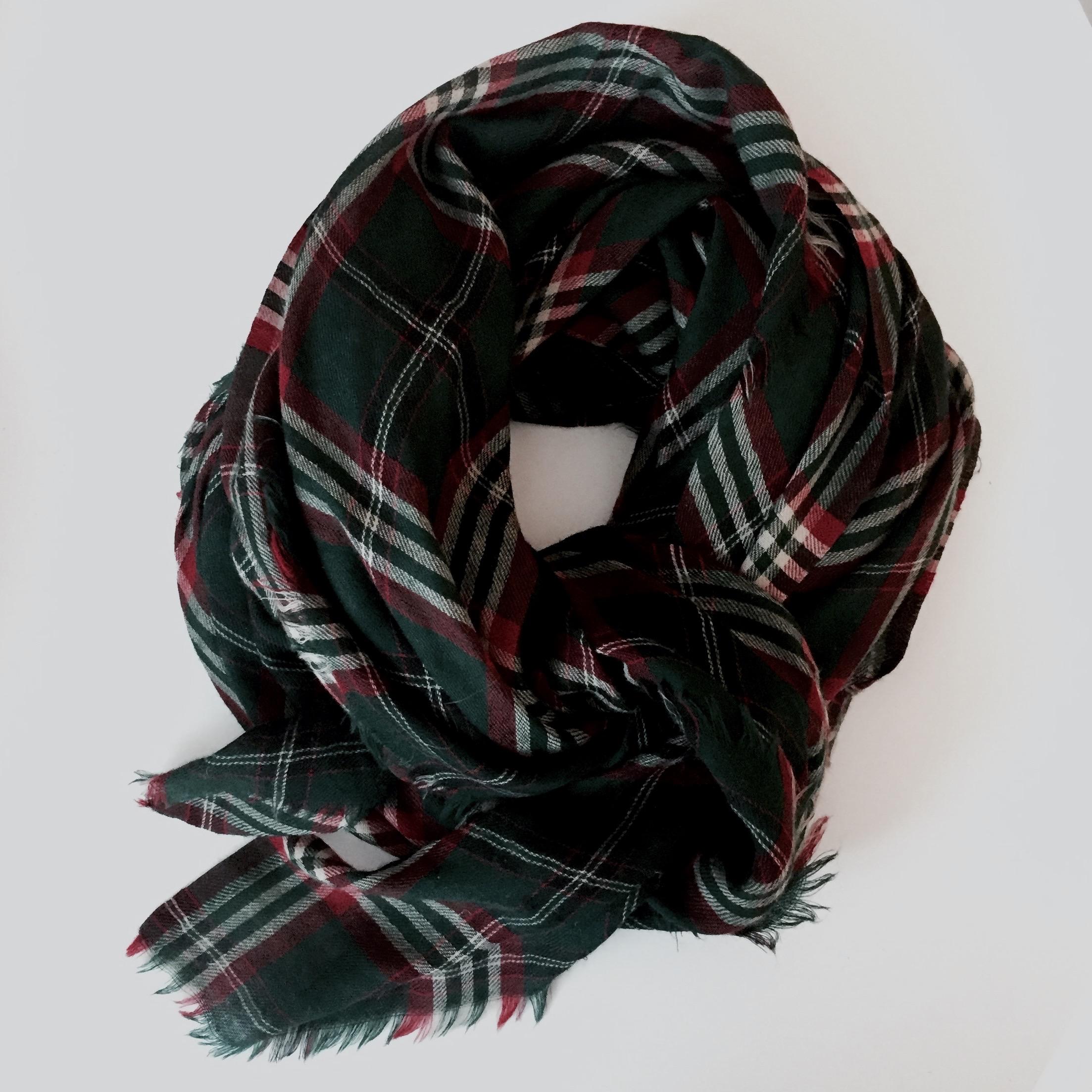 Monoprix wool scarf