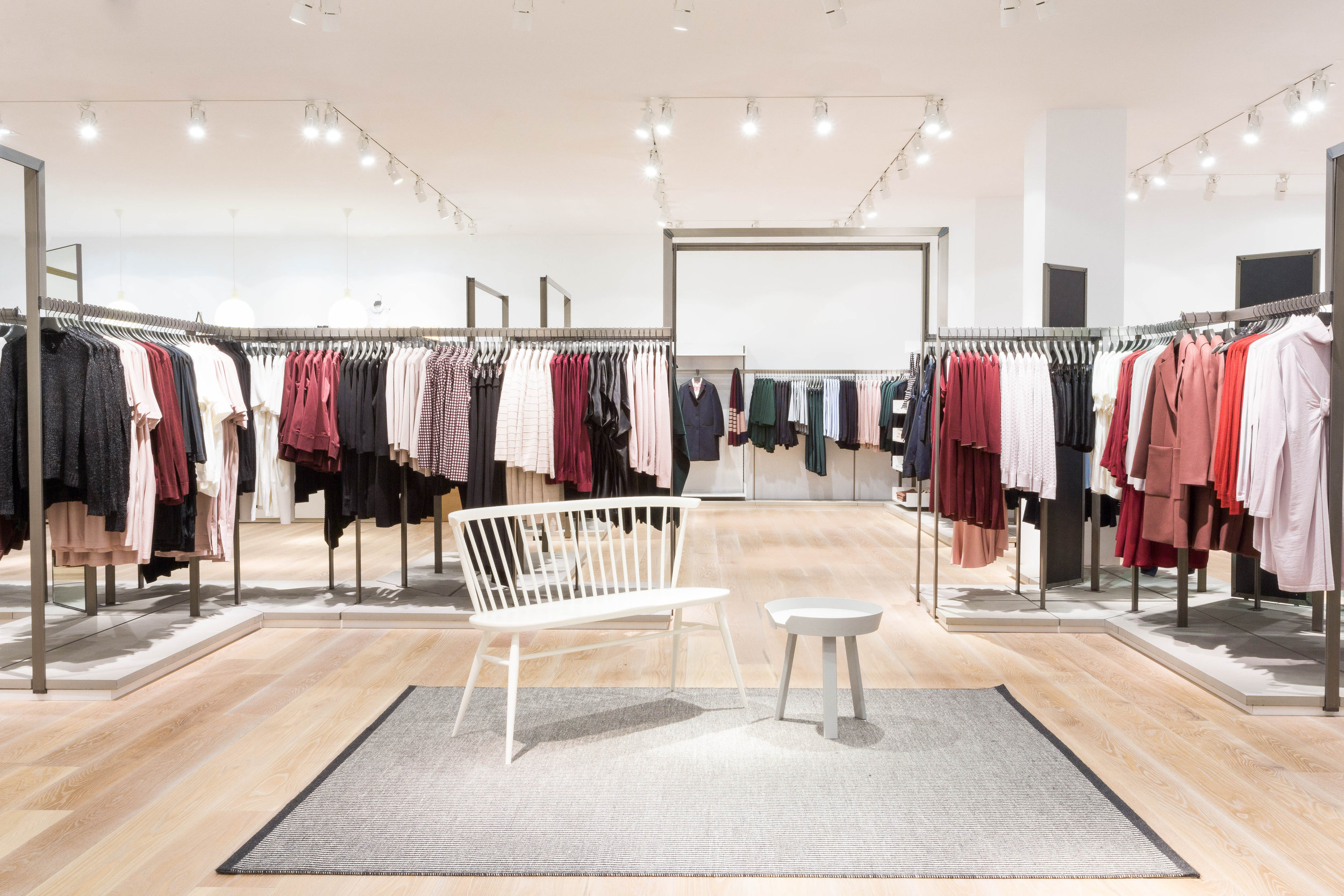 COS Store Yorkdale Pinks