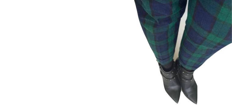 My Black Watch pants