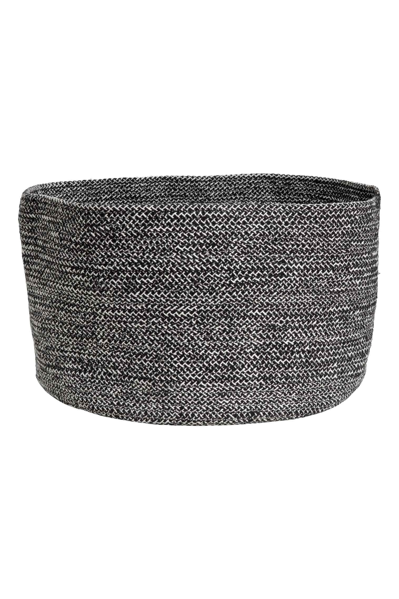 Large cotton basket, $30