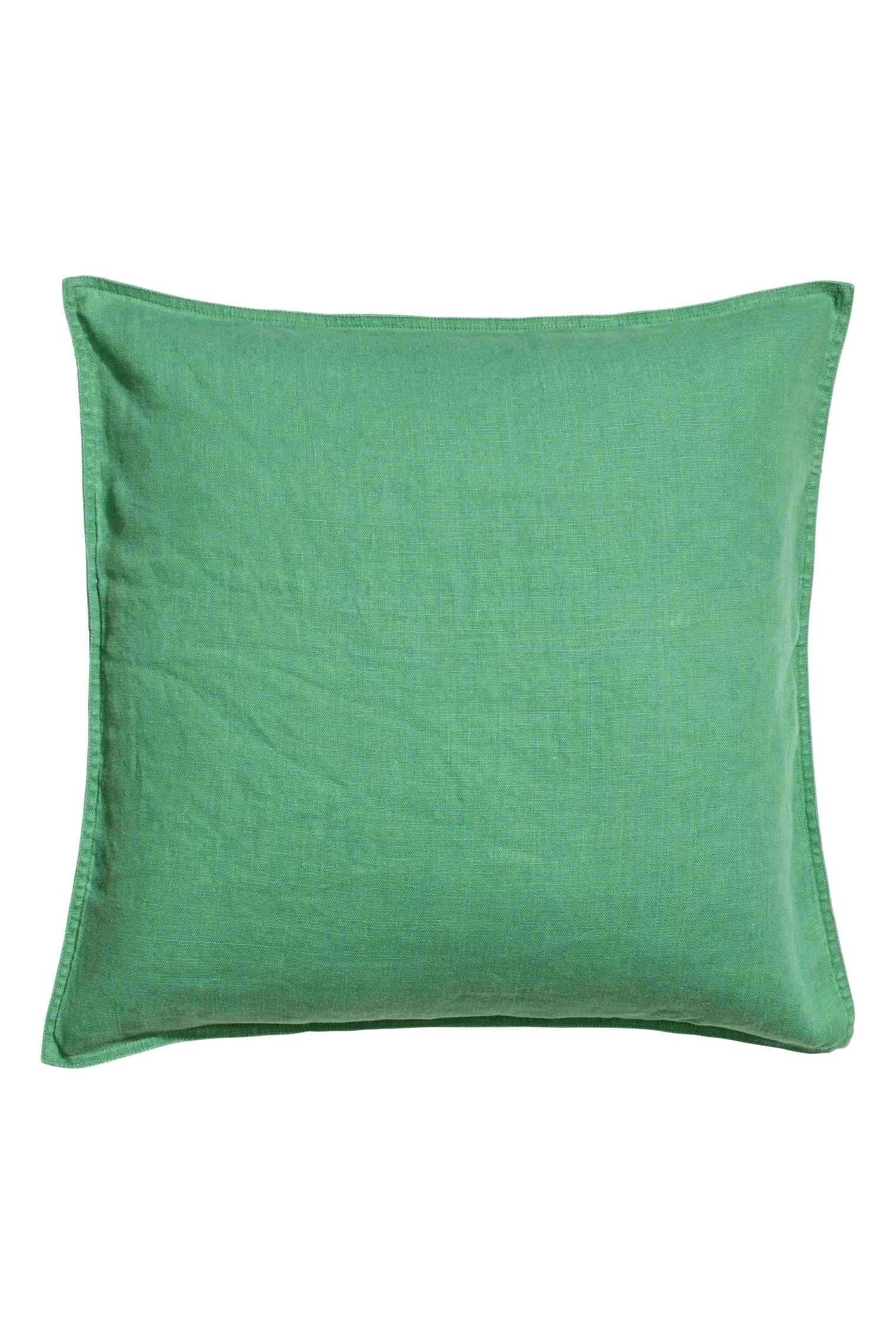 Linen cushion cover  20in., $15
