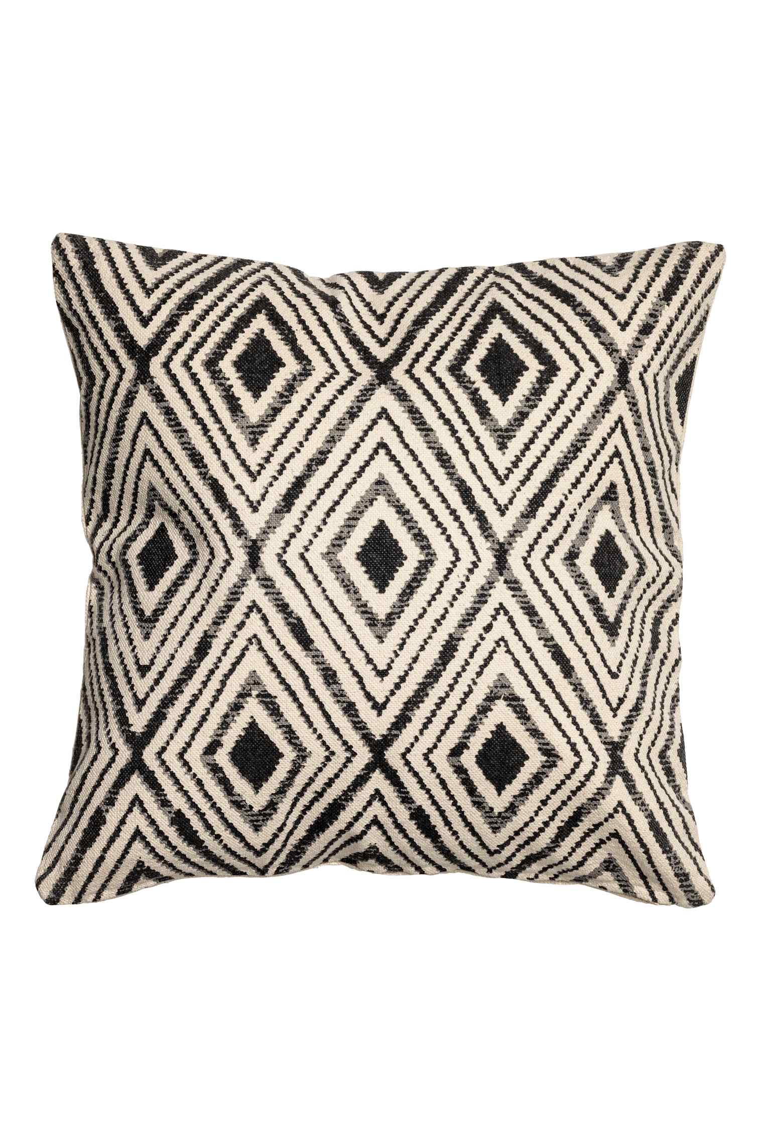 Patterned cushion cover, 20in, $15