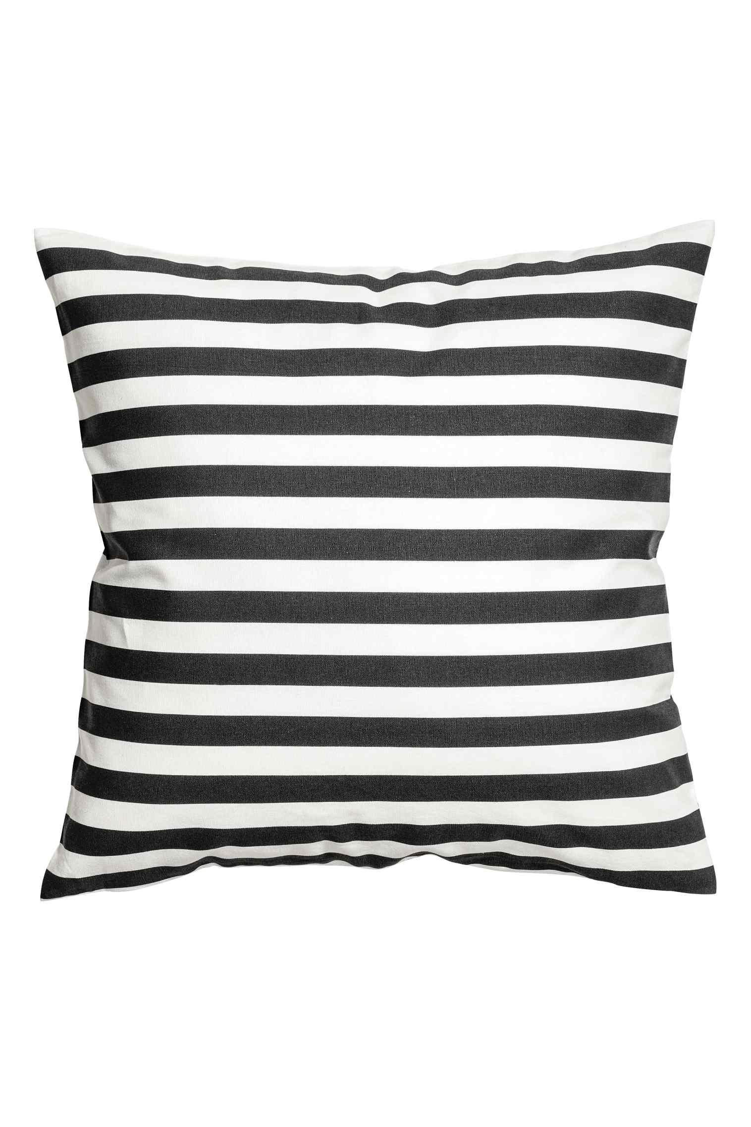Striped cushion cover, $7