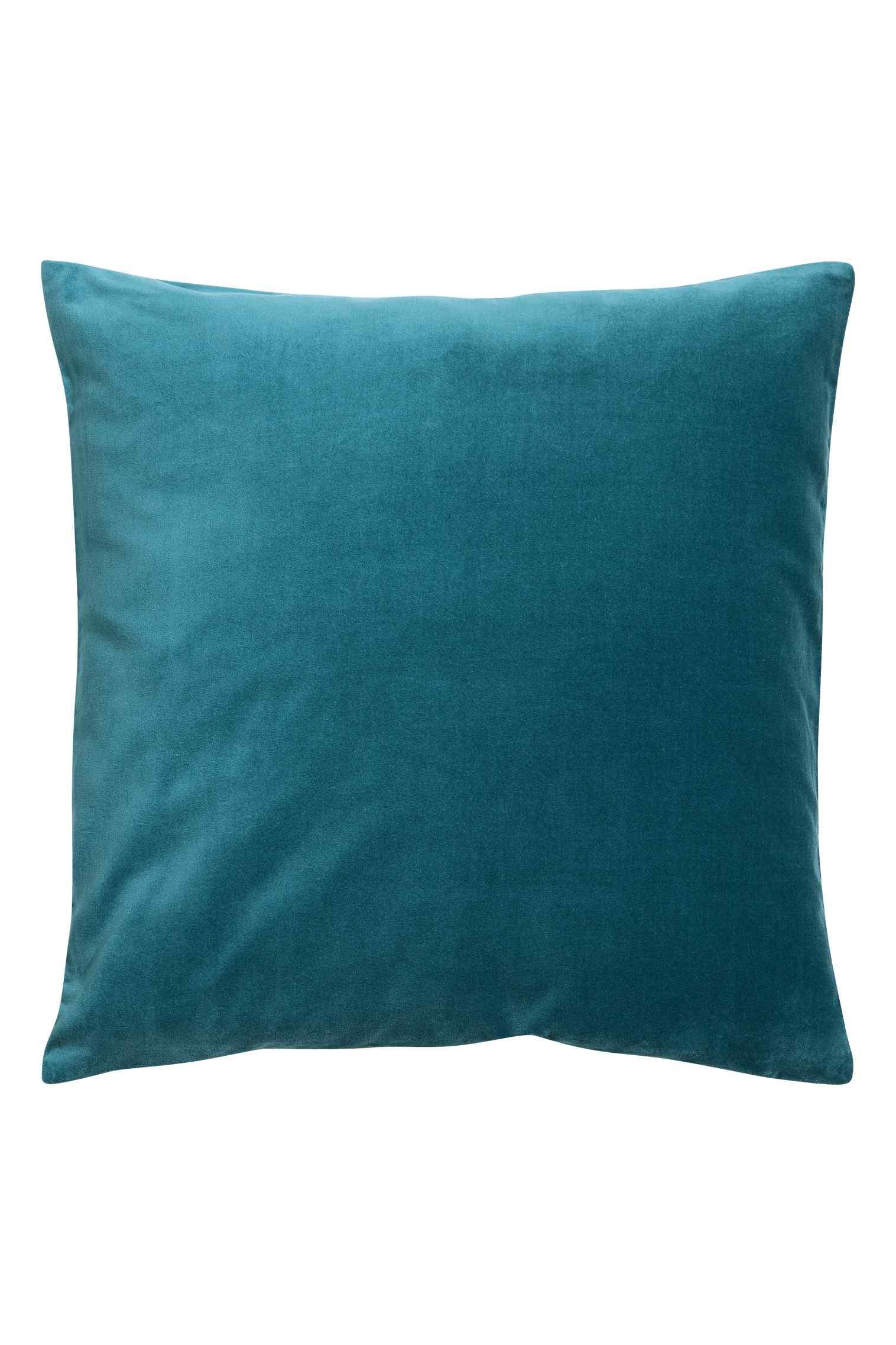 Velvet cushion cover 20in., $13