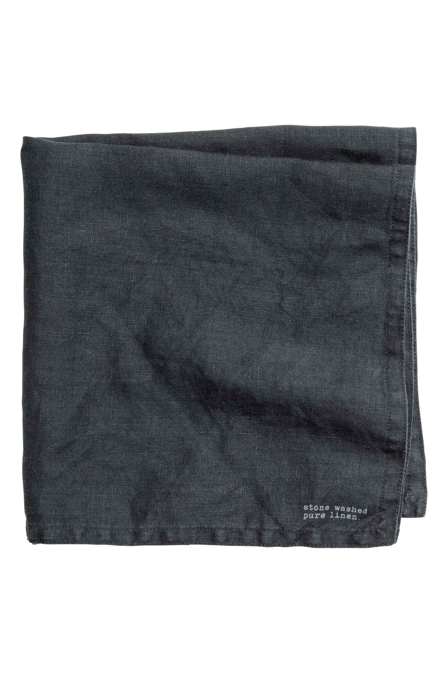 Washed linen napkin, $7
