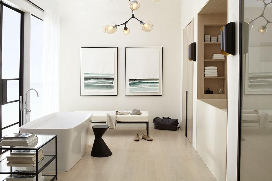 Contemporary Beach bathroom by Gen Ghaleb/XYContemporary for DXV.