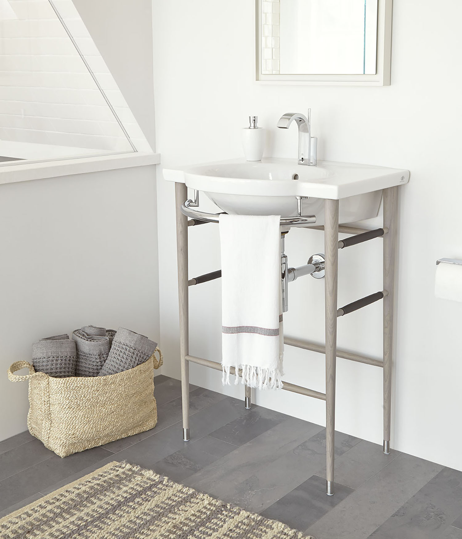 Lowell console sink,  DXV .