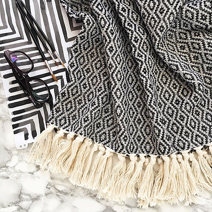 Fringed Throw