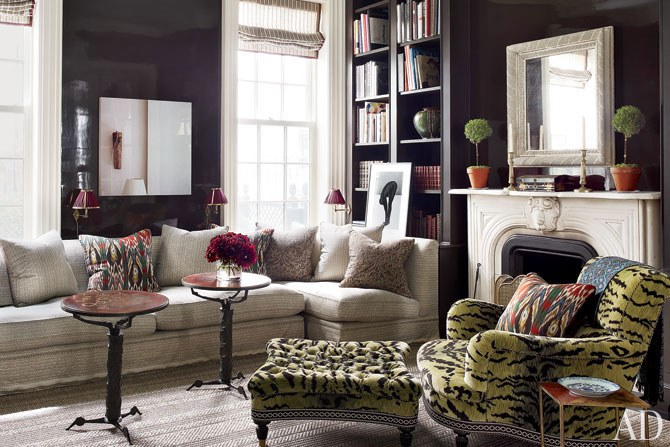That sectional, those walls, that chair! Bam. Bam. Bam!