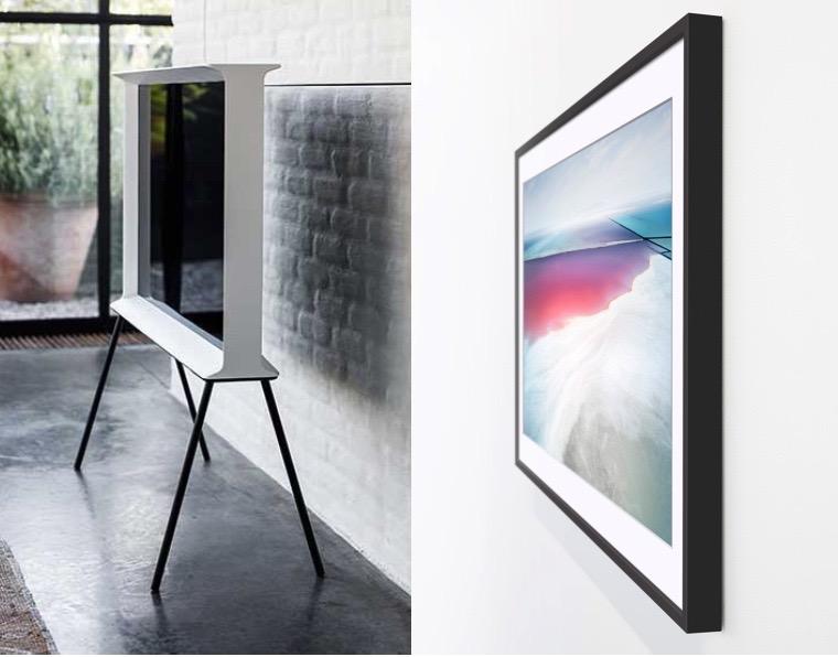 Samsung Serif and Frame TVs