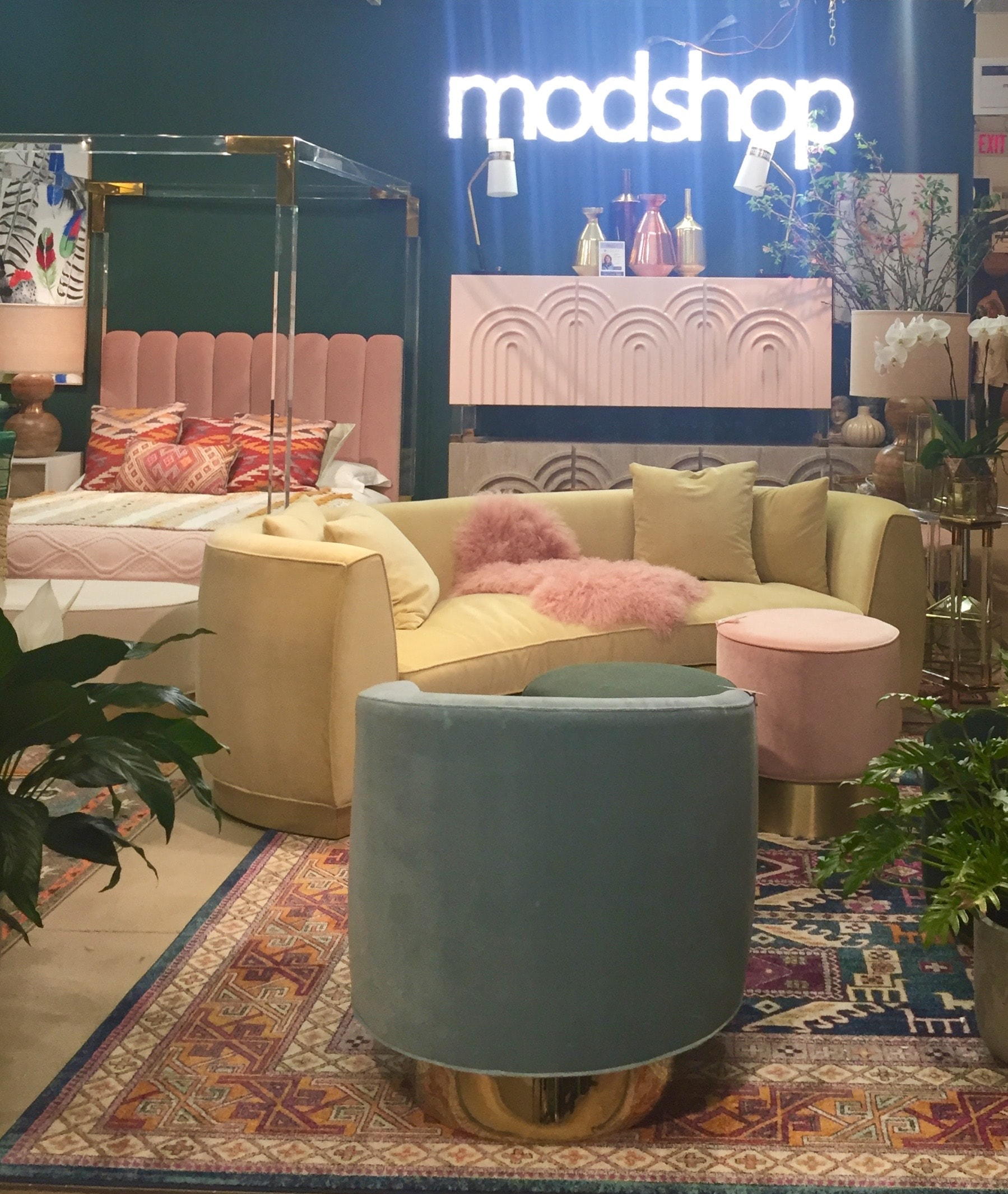 The starlet canopy bed your met previously makes a cameo appearance here thanks to that headboard. Channels. At Modshop.