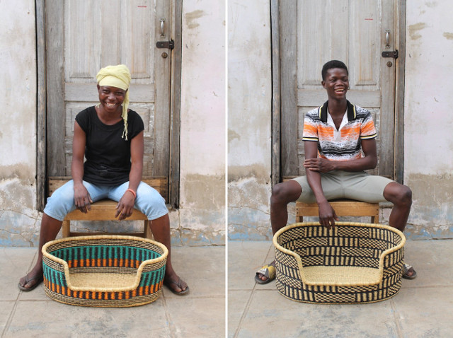 Akasigama Abuah and Gabriel Nsobillah