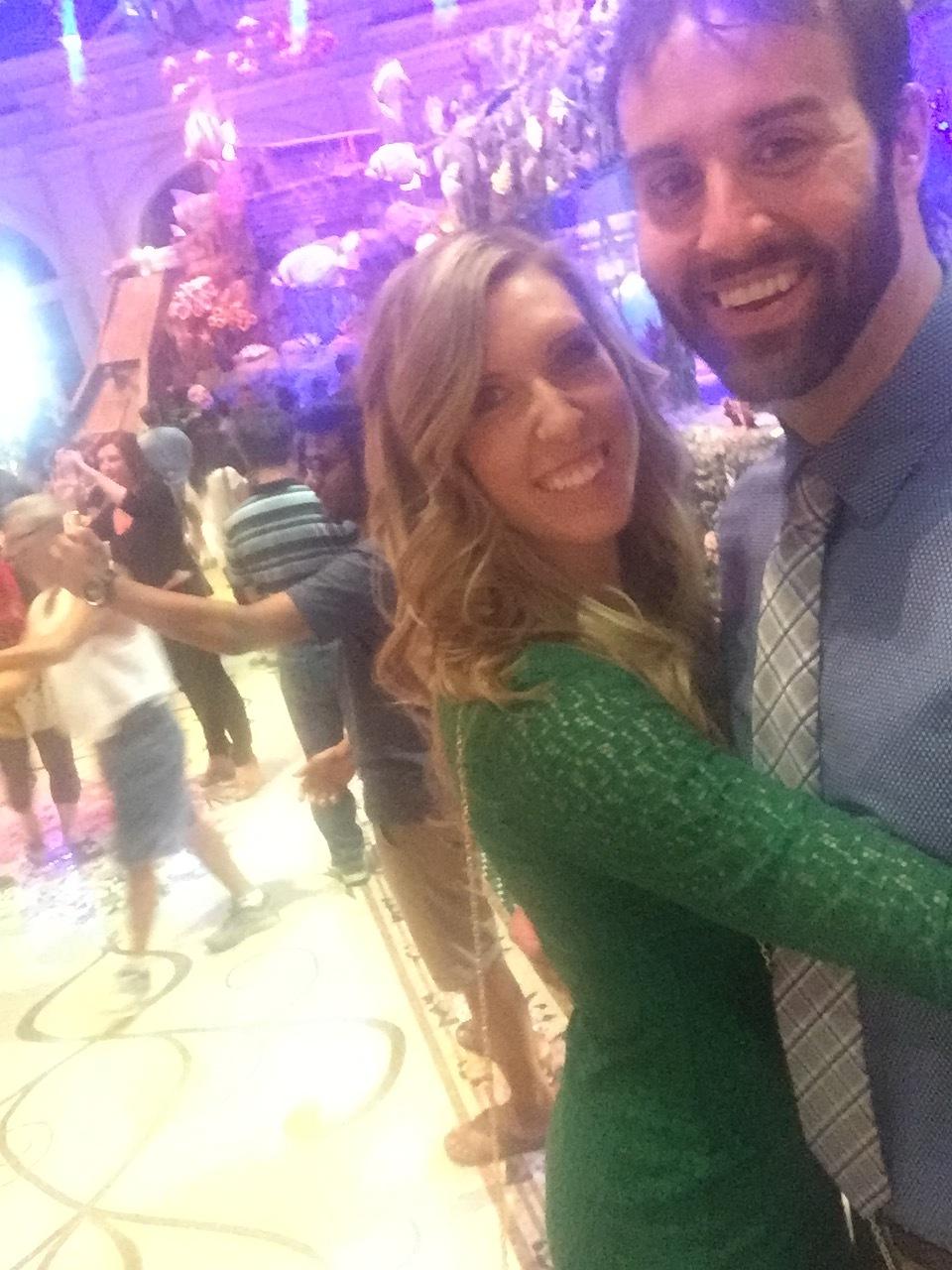 Selfie Stick at the Bellagio Gardens!