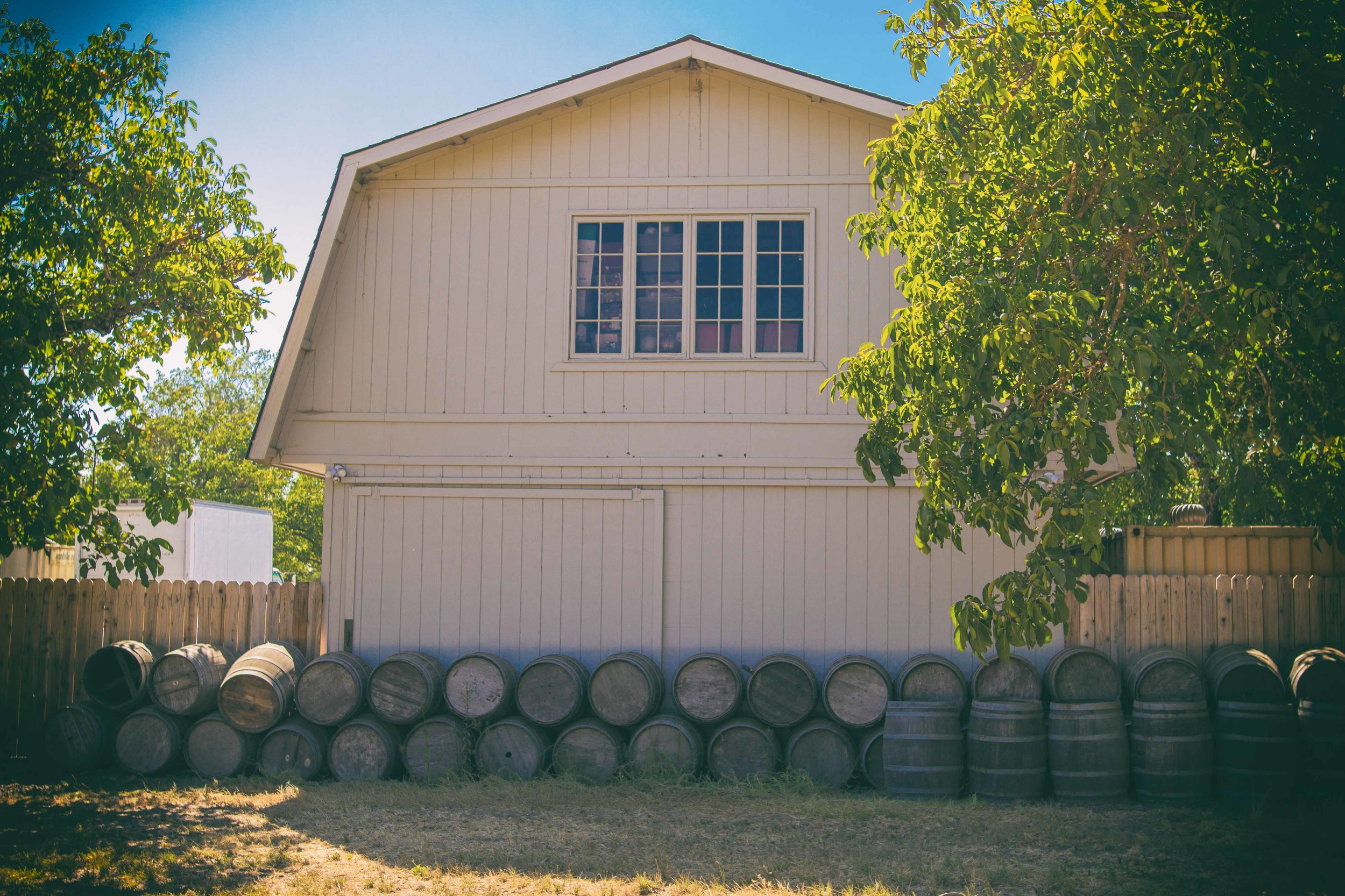 This beautiful barn