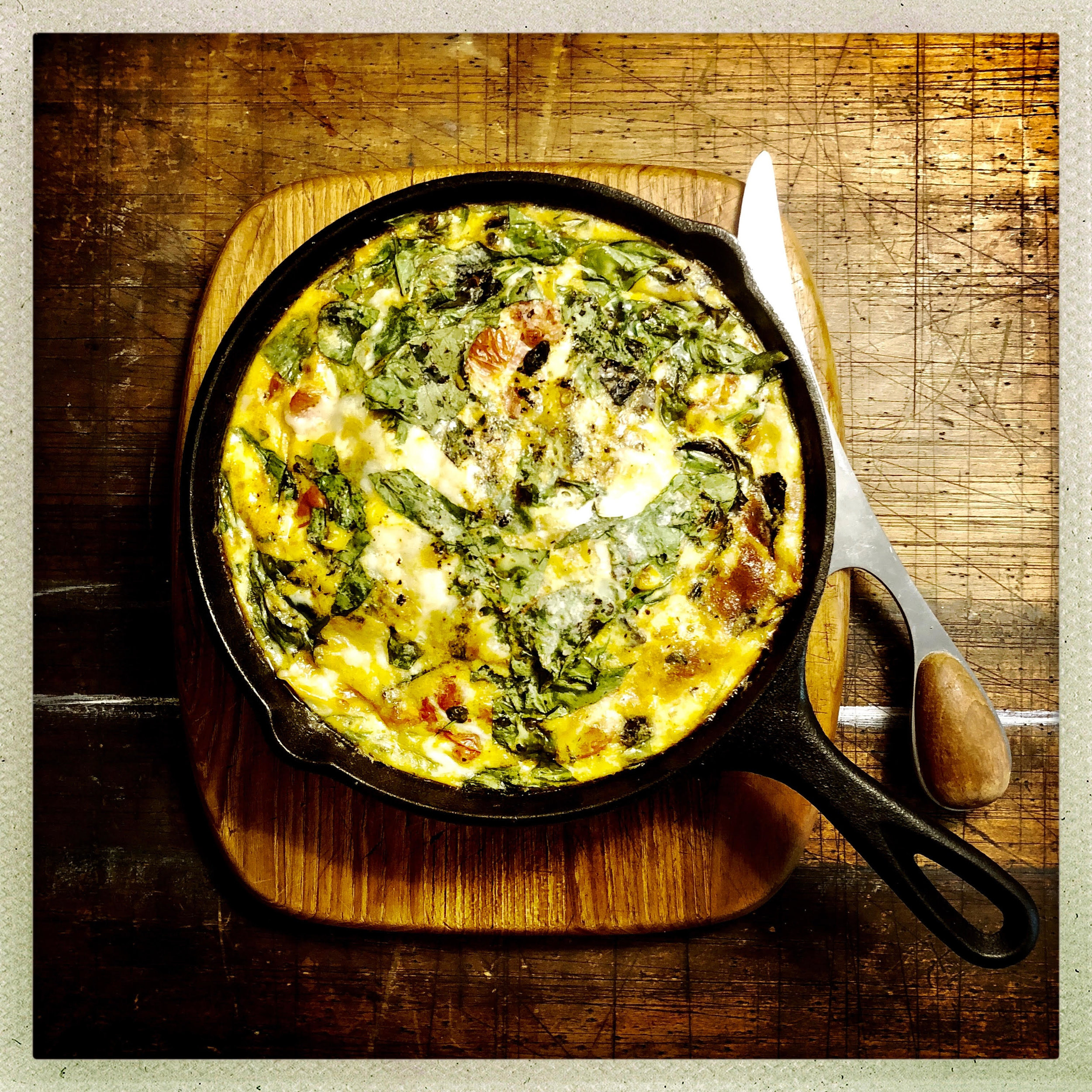 Summer Veggie Frittata with Skillet Burst Tomatoes.jpg