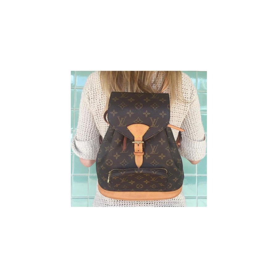 Montsouris monogram backpack, Louis Vuitton.