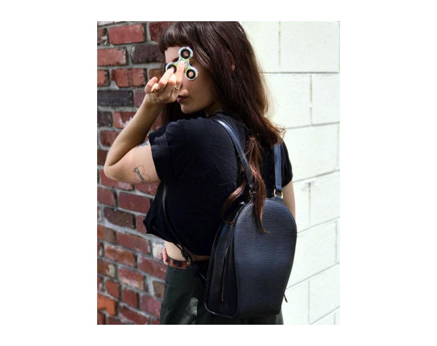 Louis Vuitton  Epi Mabillon backpack.